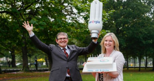 Energia slices energy costs for The Wheel members to help 15th Birthday celebrations