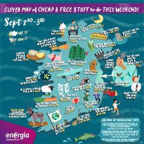 Cheap and Free Things To Do This Weekend 2nd-3rd September