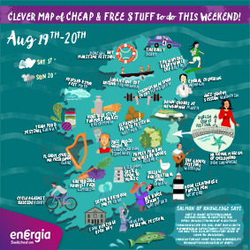 Cheap and Free Things To Do This Weekend 19-20th August