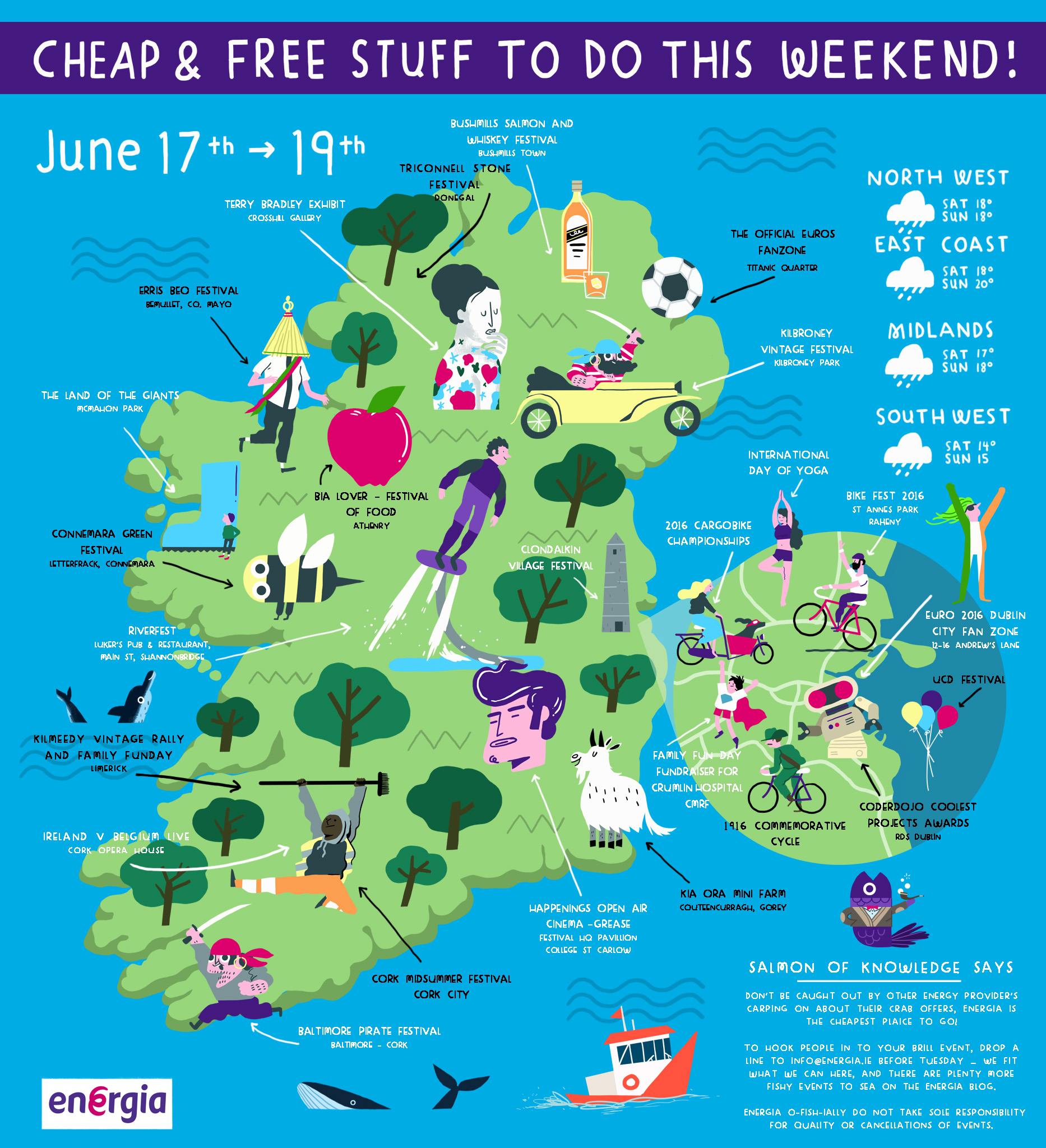 Cheap & Free stuff to do this weekend 17th - 19th June