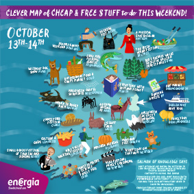 Cheap and Free Things To Do This Weekend 13-14th October