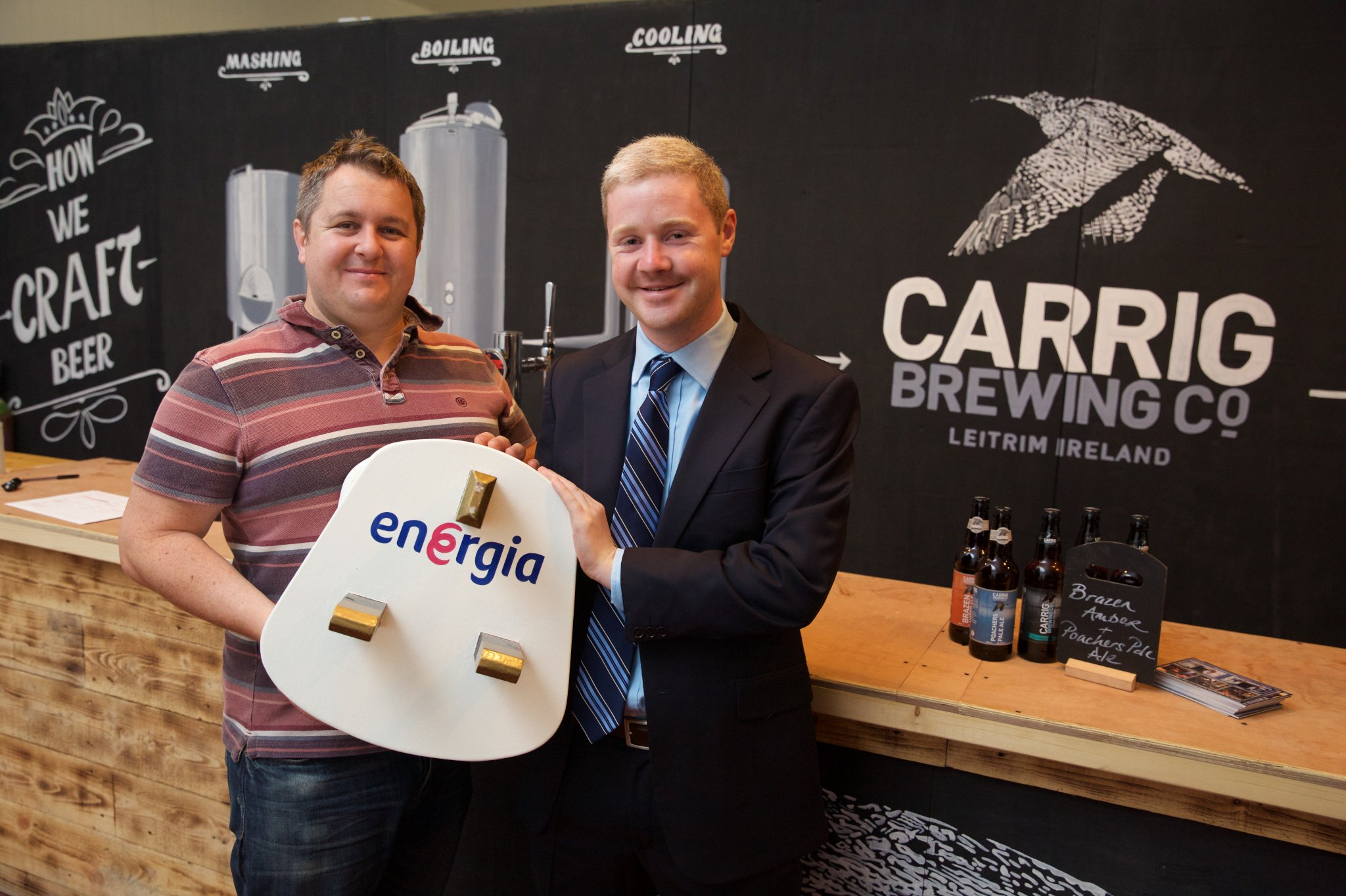 Energia makes energy savings flow for Carrig Brewing Company