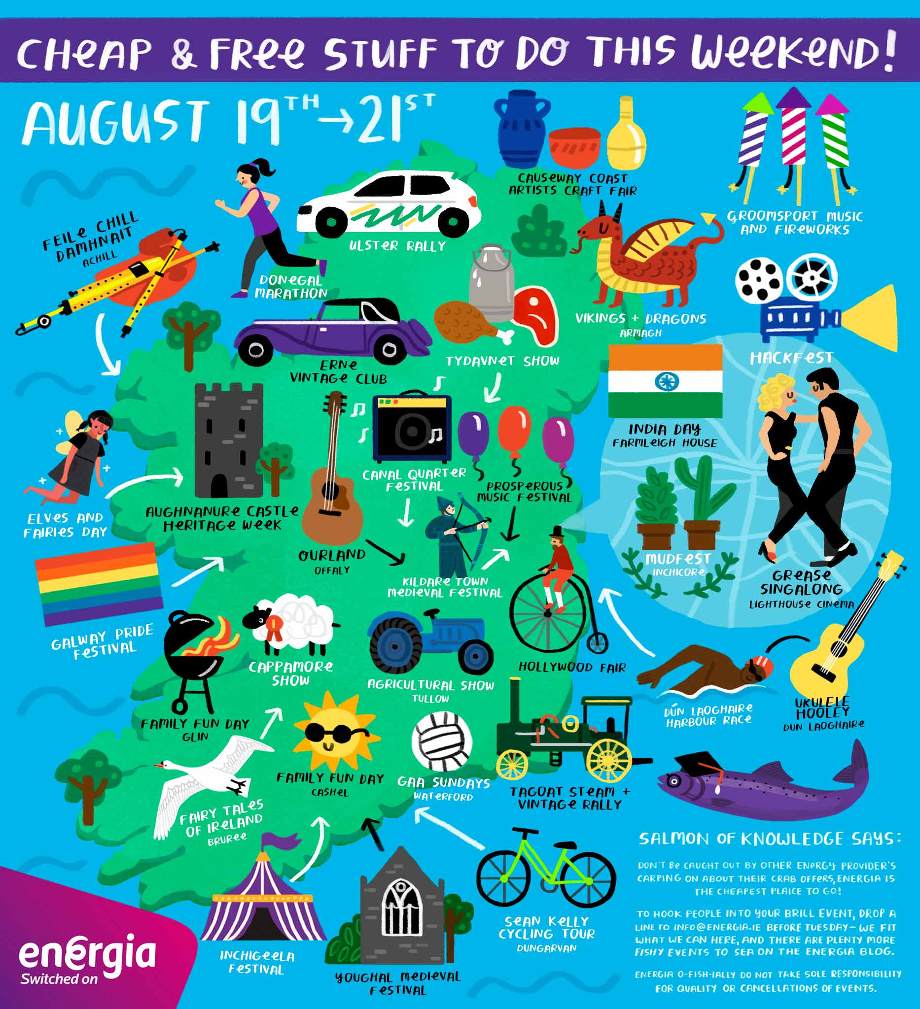 Cheap & Free stuff to do this weekend 19th - 21st August