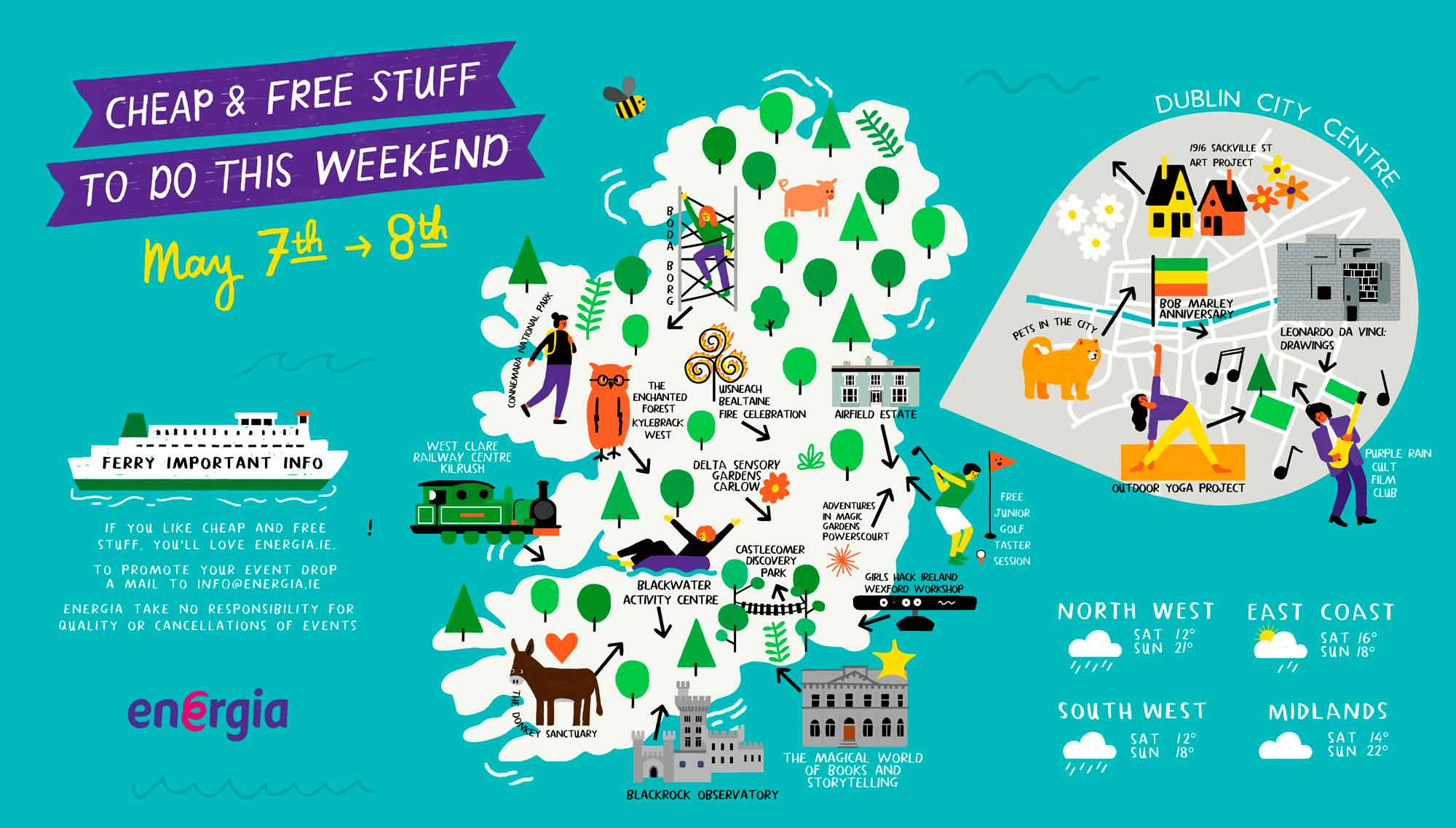 Cheap & Free Stuff To Do This Weekend 6th - 8th May