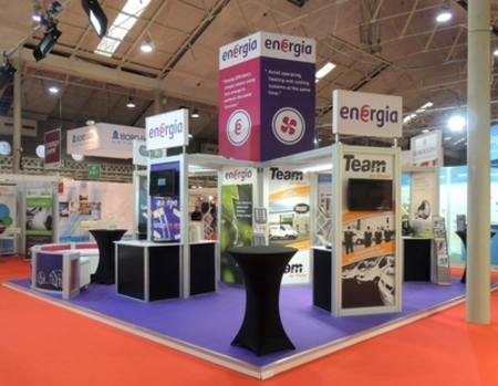 Energia at the Energy Show