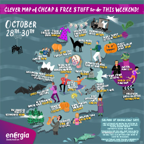 Cheap and Free Things To Do This Weekend 28th-30th  October