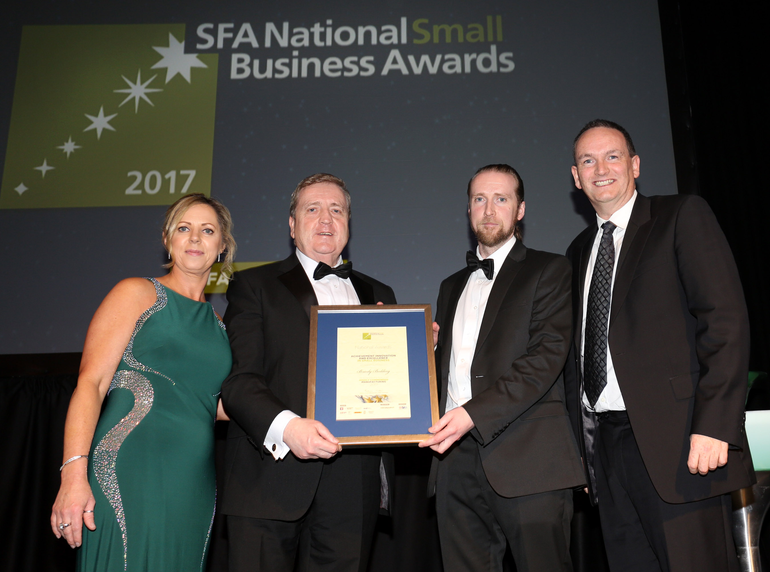 Oldcastle-based Briody Beds is highly commended in SFA National Small Business Awards