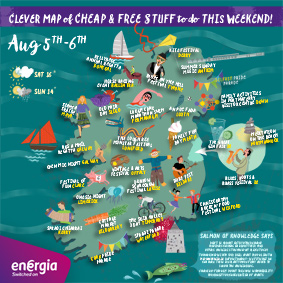 Cheap and Free Things To Do This Weekend 5th - 6th August