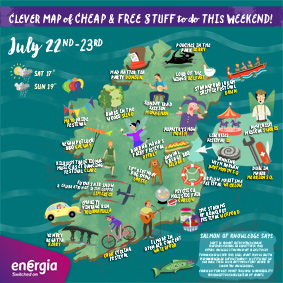 Cheap and Free Things To Do This Weekend 22nd-23rd July