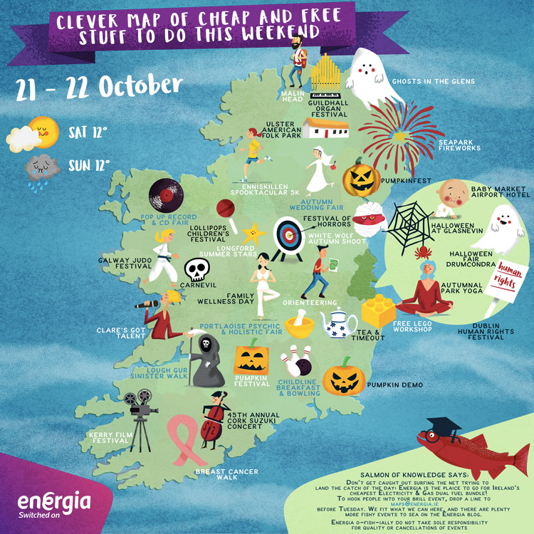 Cheap and Free Things To Do This Weekend 21st-22nd October