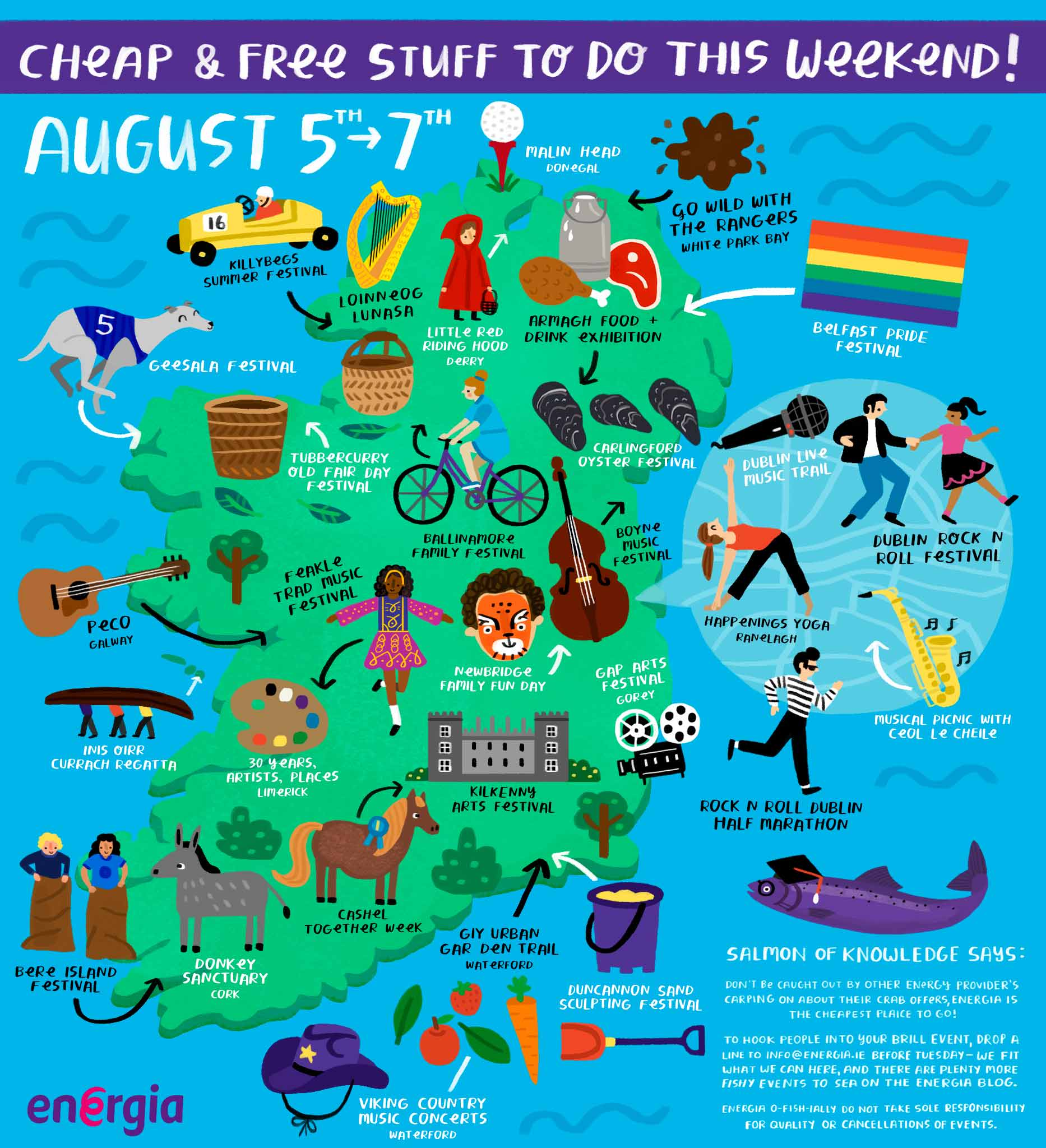 Cheap & Free stuff to do this weekend 5th - 7th August