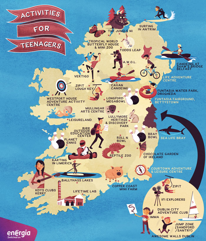 Cheap and Free Activities for Teenagers in Ireland