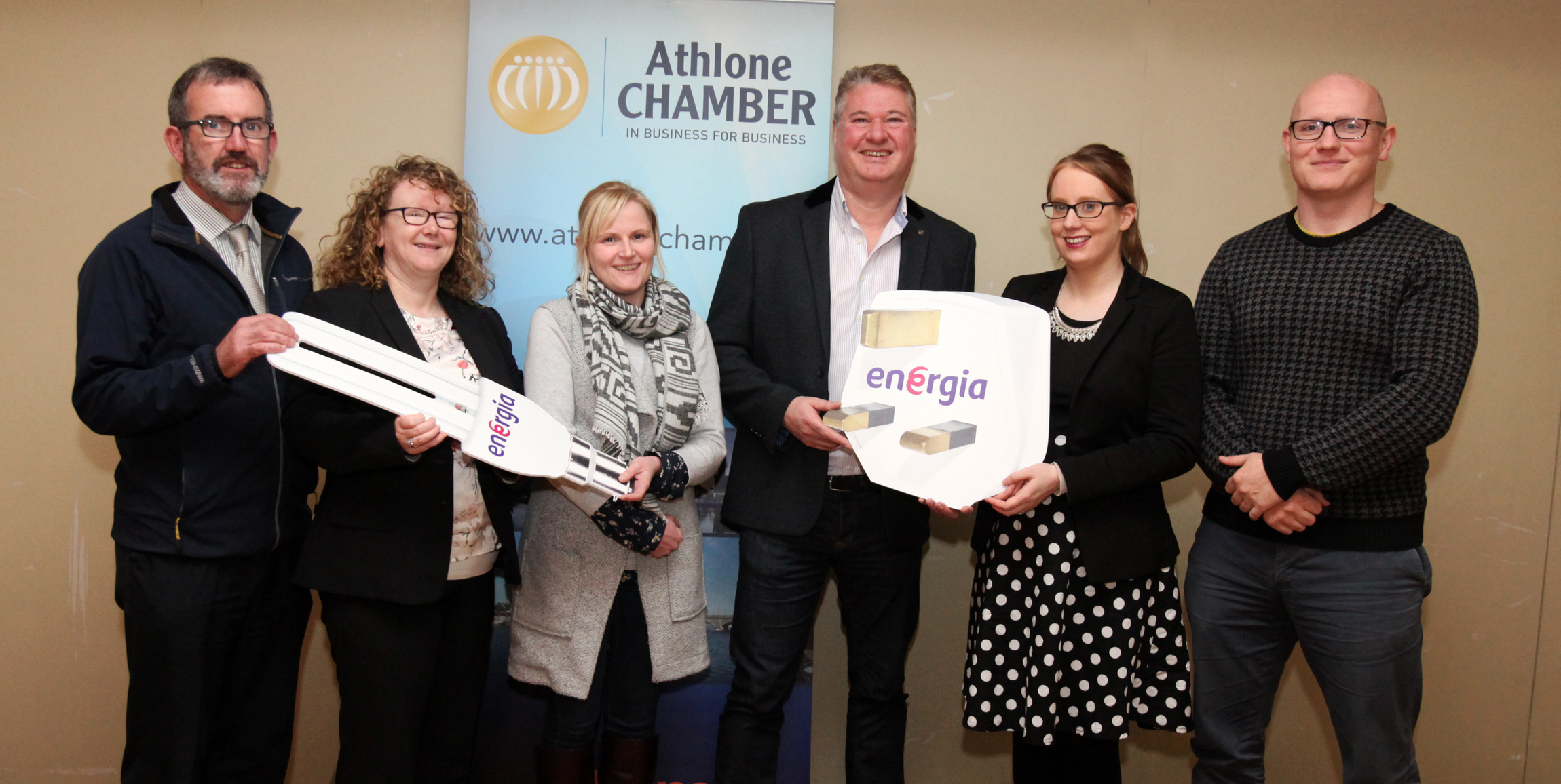 Athlone businesses get energised about increasing efficiency