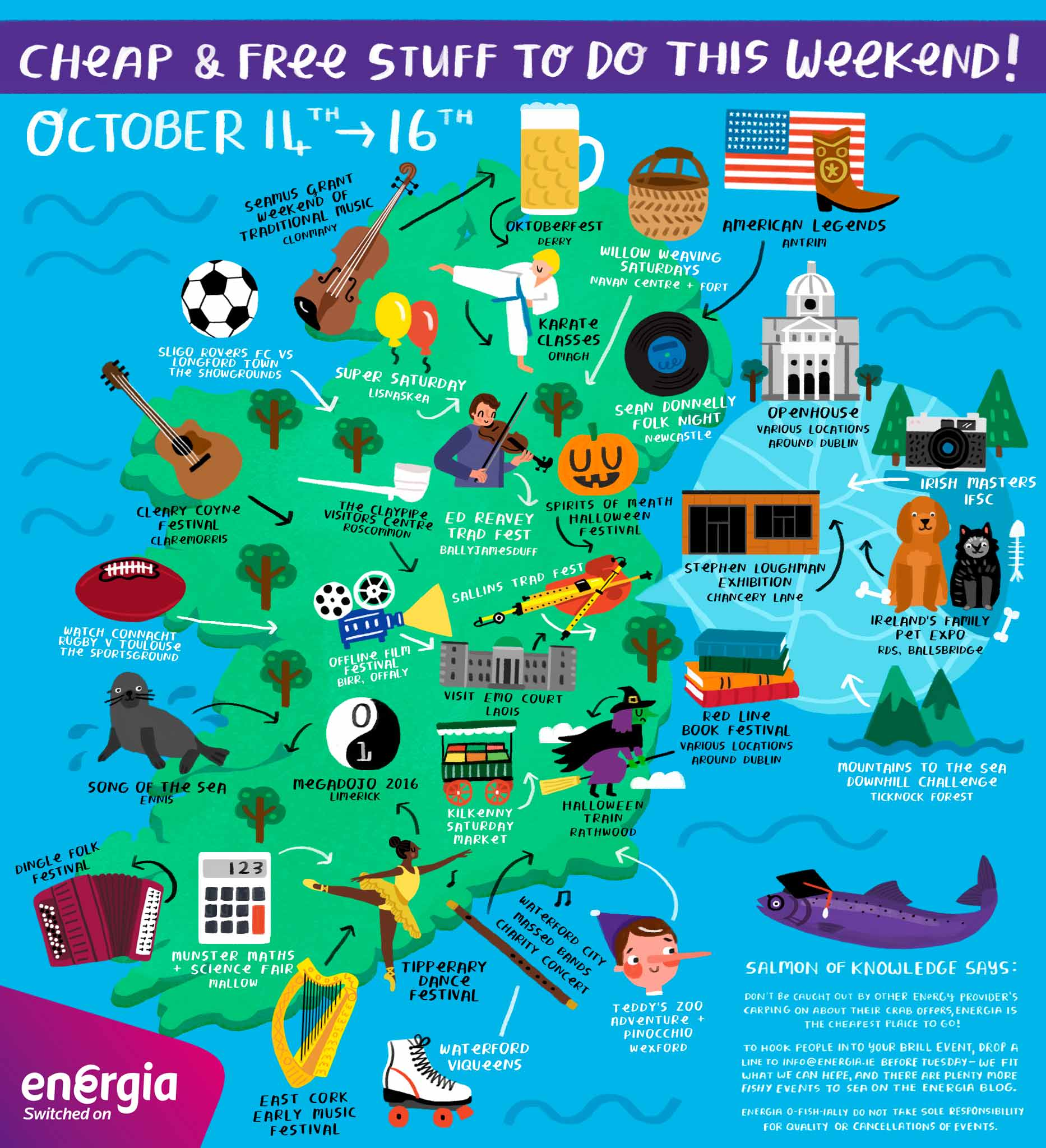 Cheap & Free stuff to do this weekend 14th - 16th October