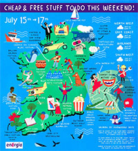 Cheap & Free stuff to do this weekend 15 - 17 July