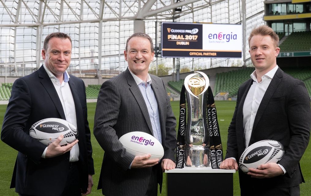 Energia to help power Guinness PRO12 Final Series