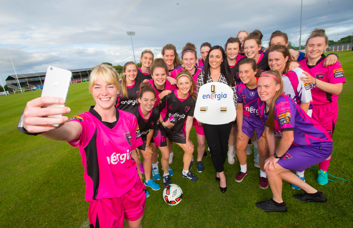 Energia to power Wexford Youths Women's FC for 2016/17 season