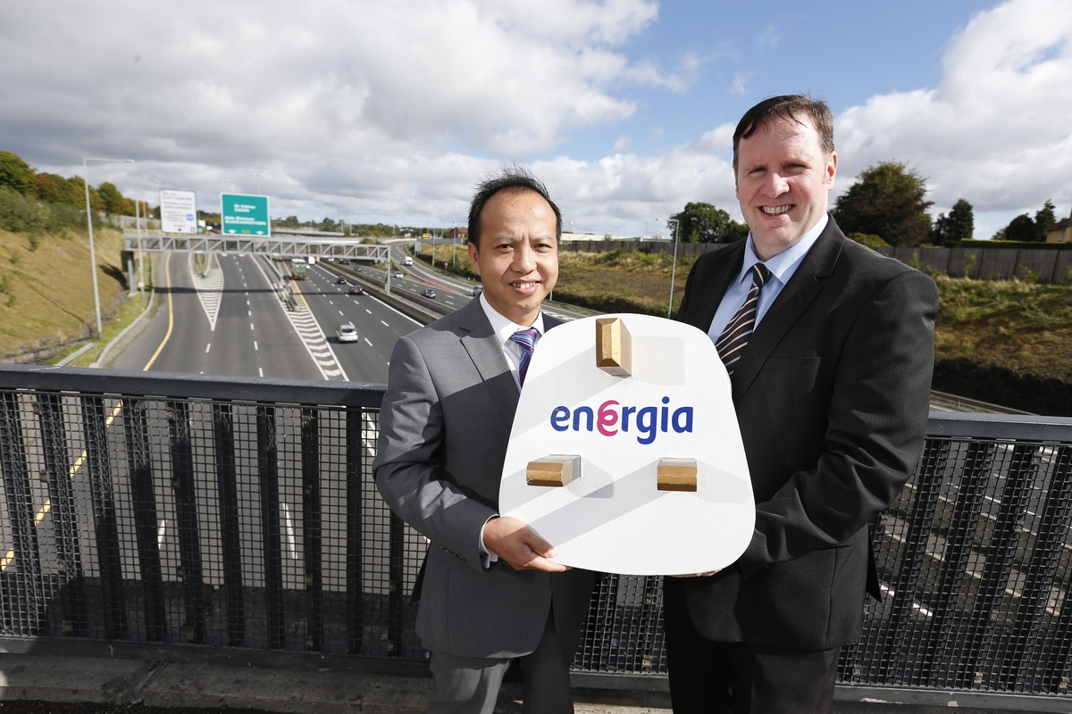 Energia to continue to light M50