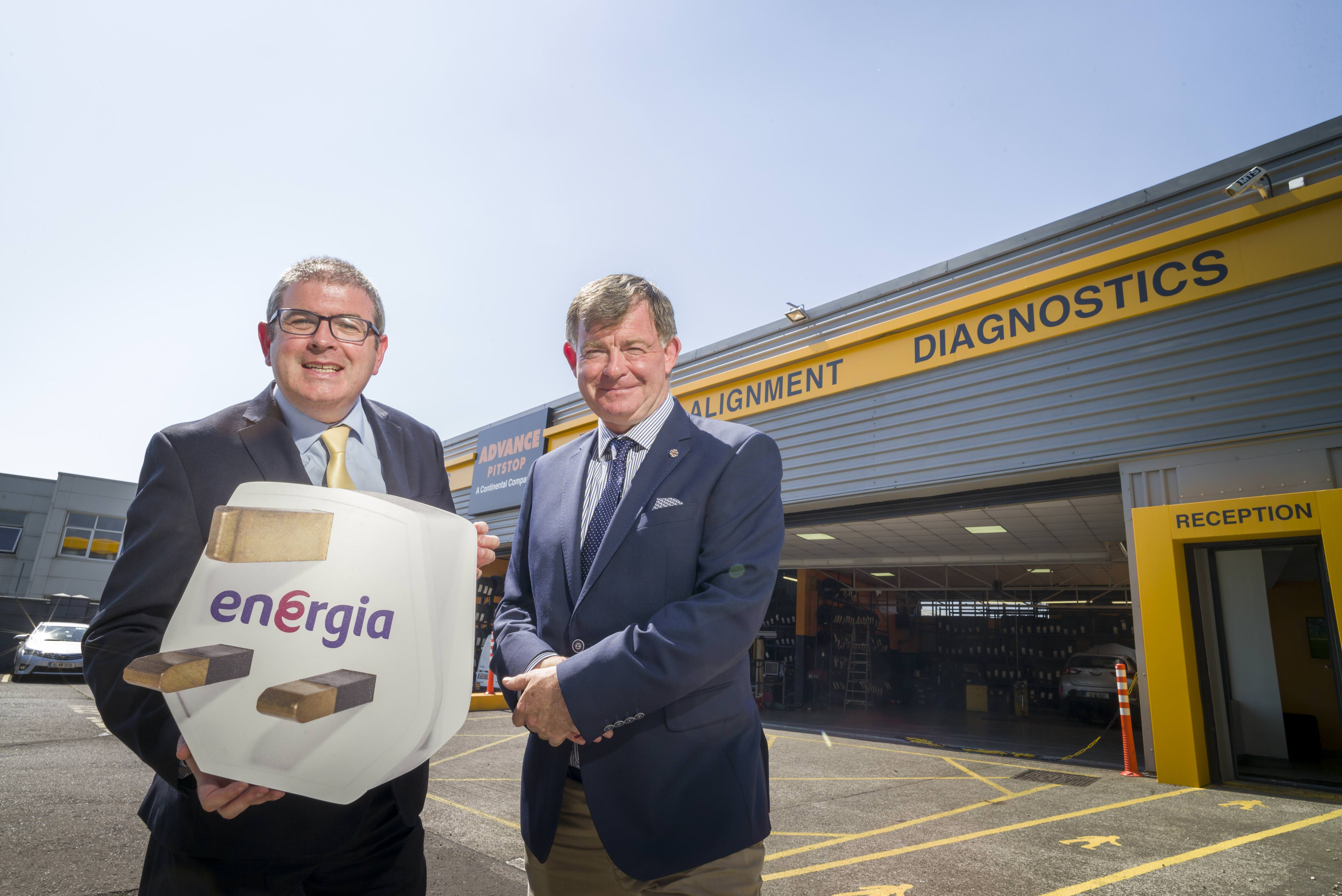 Energia announces national partnership with Advance Pitstop