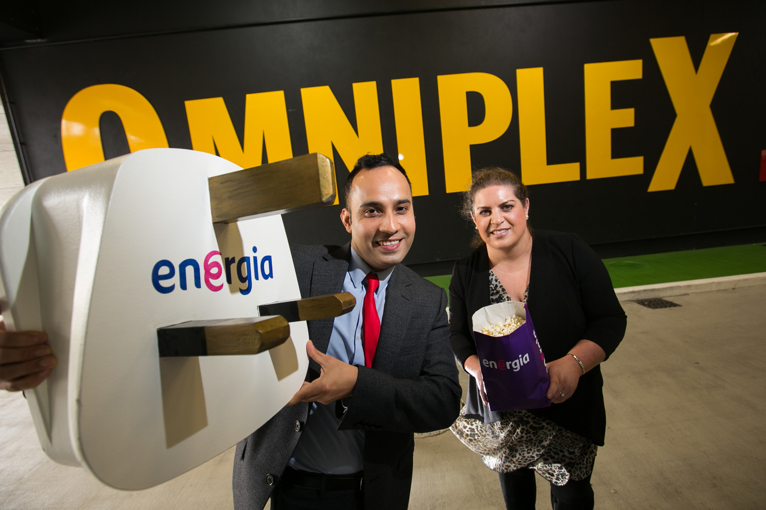 Energia to power Omniplex's cinemas in both ROI and NI