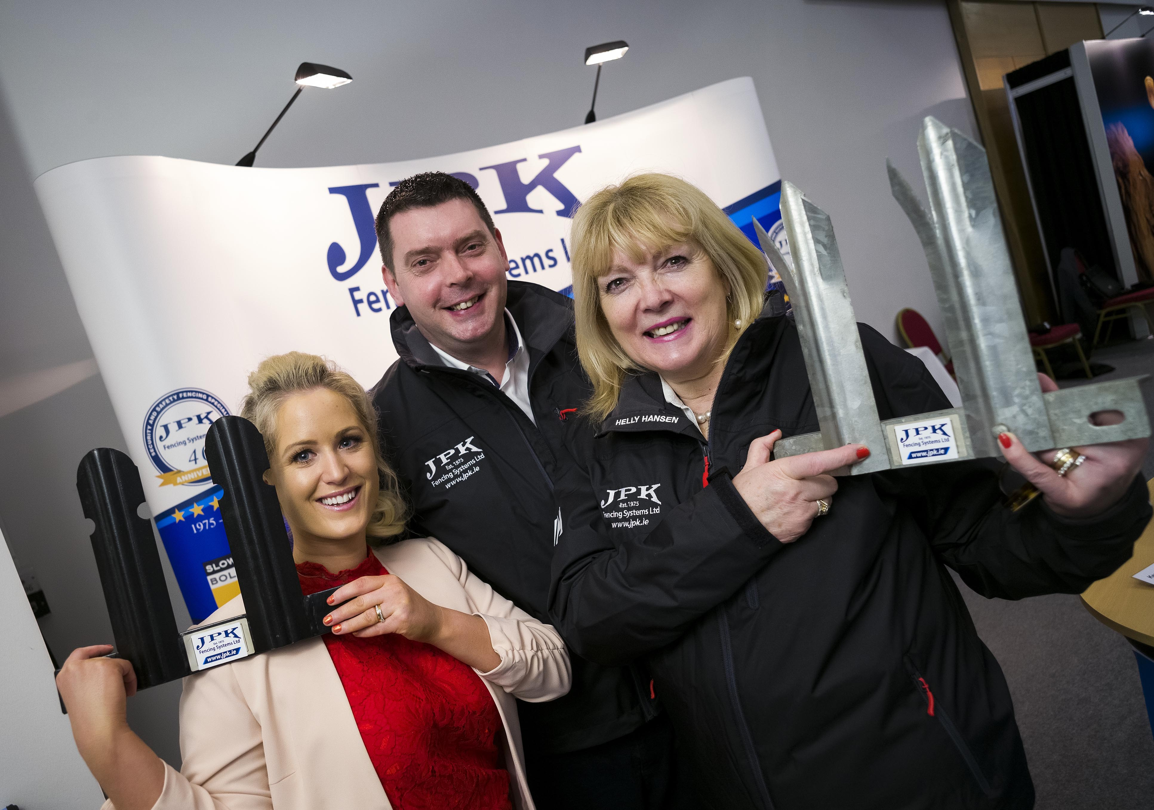 Will it be second time lucky for Claregalway-based business JPK Fencing in the SFA National Small B