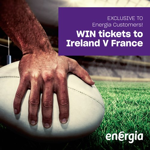 February '19 - Ireland V France, Rugby Tickets Competition Draw