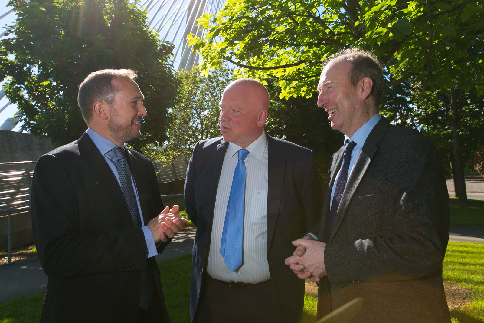 Glen Bailey, Head of Residential Sales, Energia; Noel King, Managing Director NK Communications and;